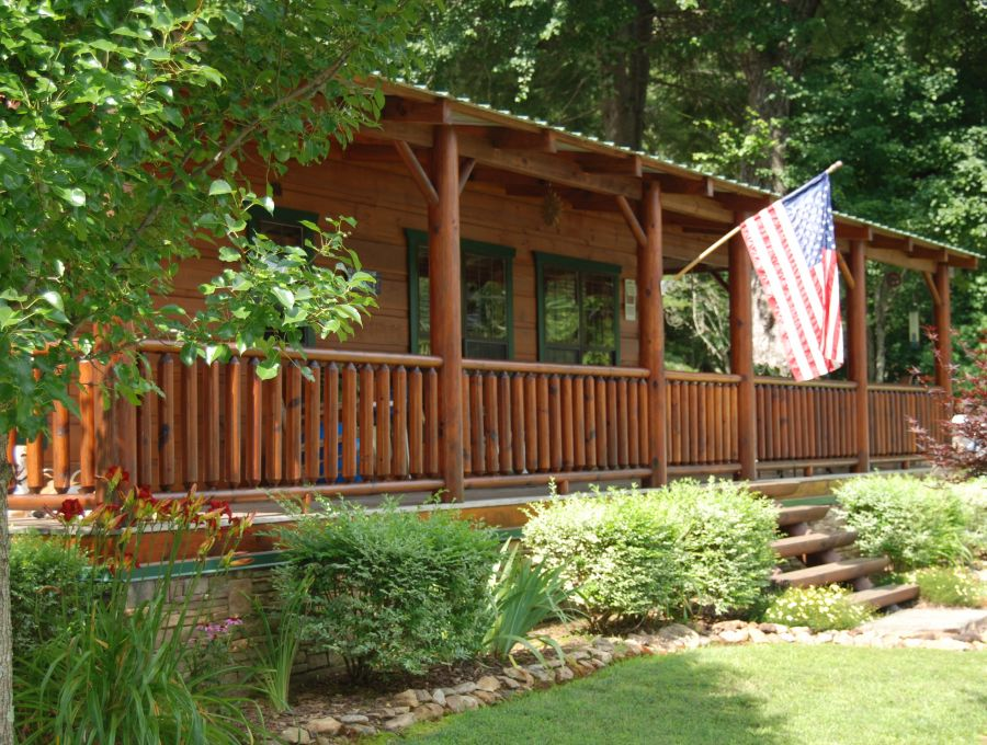 Modular Log Cabins NC - Custom Log Home