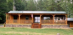 Modular Log Cabin Homes in NC