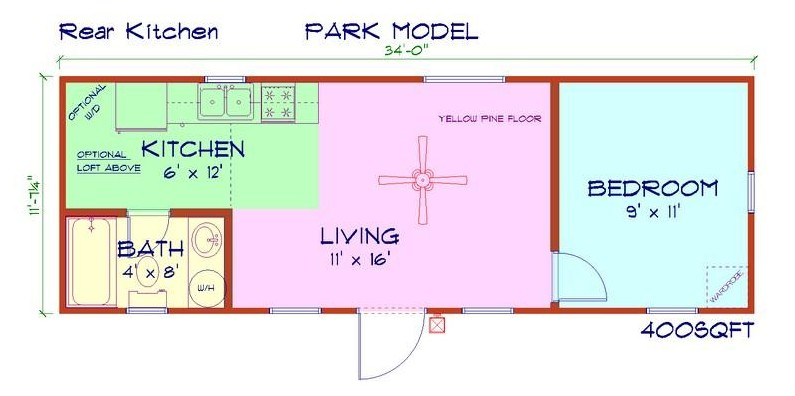 Cabins 12 x 24 plans joy studio design gallery best design for 12x24 cabin floor plans