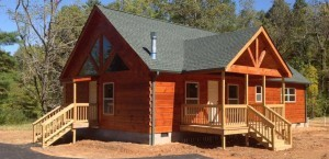 North Carolina Modular Log Cabin Home