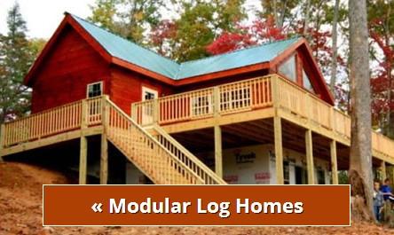 Log cabin model homes north carolina