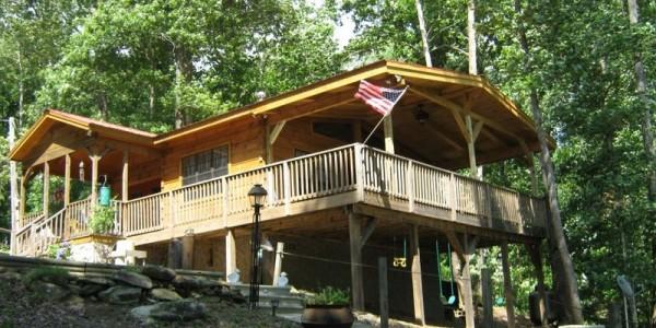 Modular Log Cabin Homes NC - Custom Log Cabins