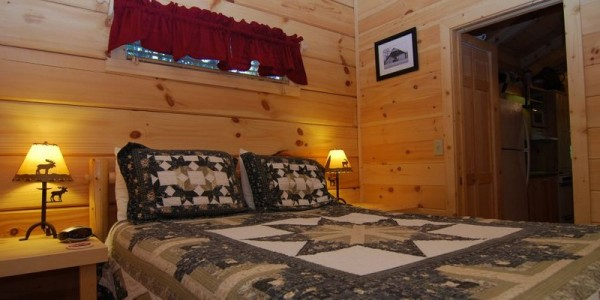 Modular Log Homes with beautiful rustic amenities...