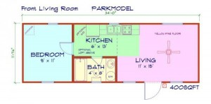 RV Park Model Log Cabin Plans NC