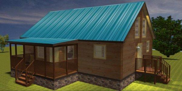 36 39 x 25 39 modular log cabin 19 39 x13 39 2nd flr 3 bedroom for 3 bedroom log cabin prices