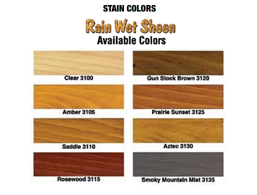 Modular home colors mountain recreation log cabins for Log cabin exterior stain colors