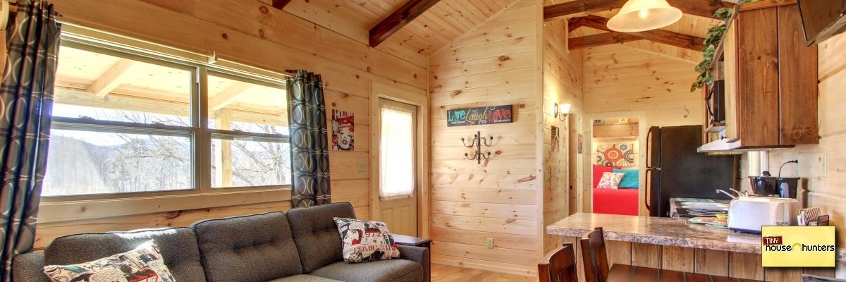 Modular Log Cabins   Tiny House Hunters