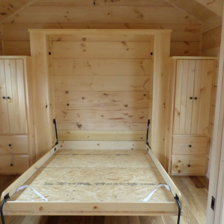 Murphy Bed Mountain Recreation Log Cabins
