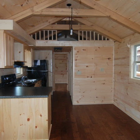 Storage Loft 5 12 Pitch Roof Mountain Recreation Log