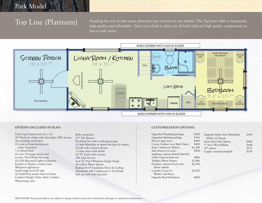 TOP LINE FLOORPLAN