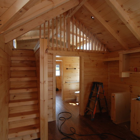 Two Shed Dormers In Loft Mountain Recreation Log Cabins