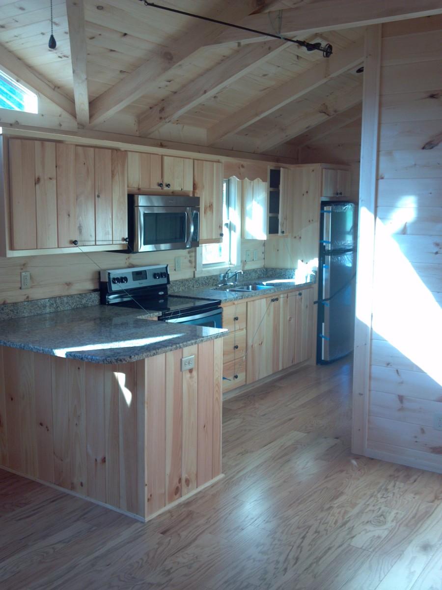 50 X 16 Annebelle Modular Log Home Mountain