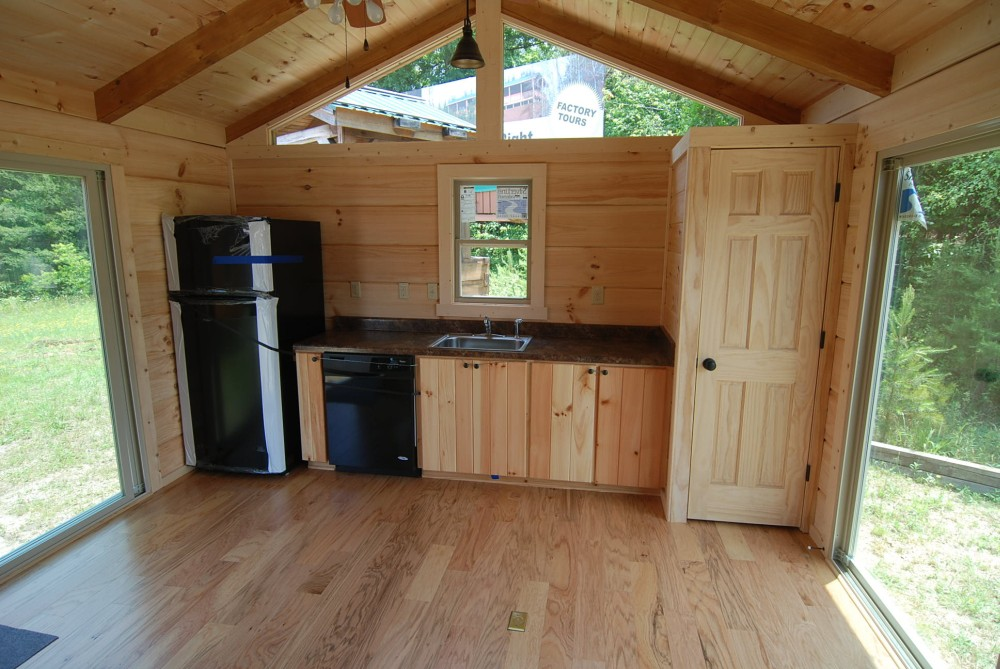 Modular Homes Floor Plans And Prices >> 44' x 14' BULL OF THE WOODS - Modular Log Cabin | Mountain ...