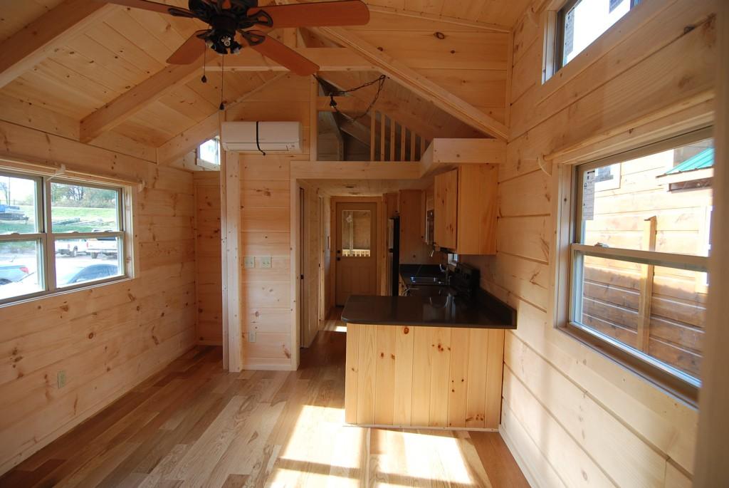 34 X 12 Greyson W Porch Park Model Log Cabin Mountain Recreation Log Cabins