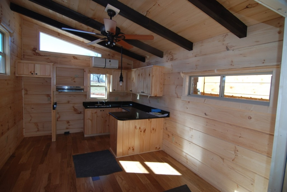 34 X 12 Yearling Park Model Log Cabin Mountain