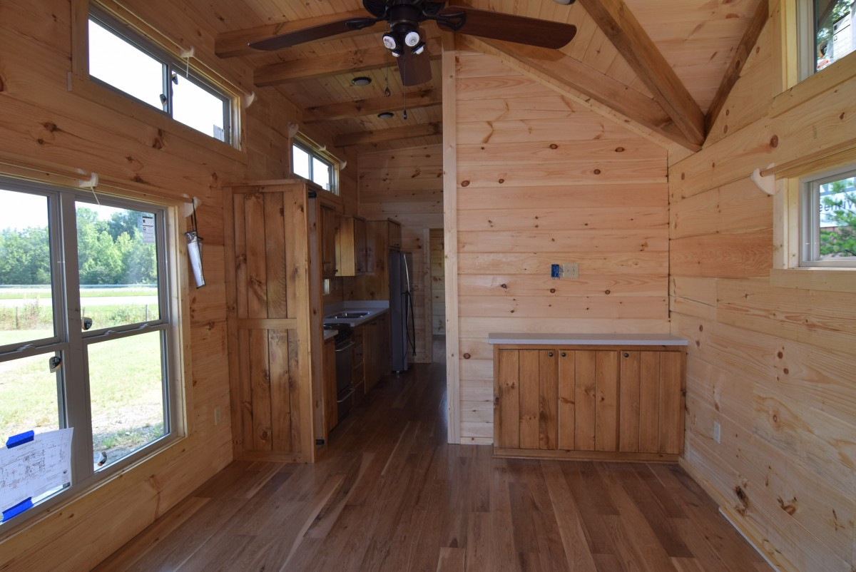 44 X 12 Low Country Cottage Mountain Recreation Log Cabins